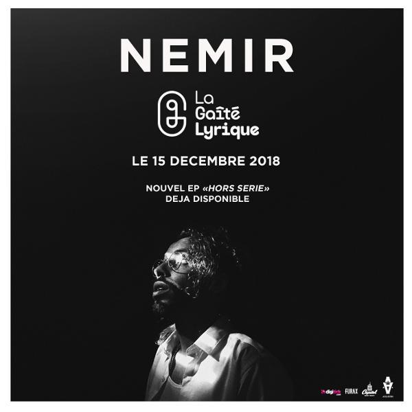 NEMIR de retour sur scène à la Gaîté Lyrique le 15 décembre