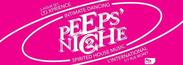 Peeps' Niche 2 w/ LTJ Xperience (Irma Records - Bologna)