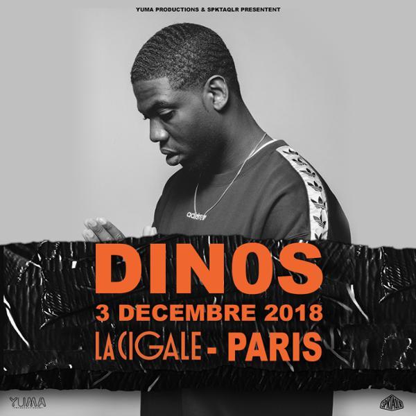 Dinos • La Cigale • 3 décembre 2018