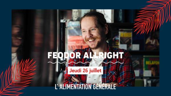 Electronica & disco w/ Feodor Allright // L'ALG