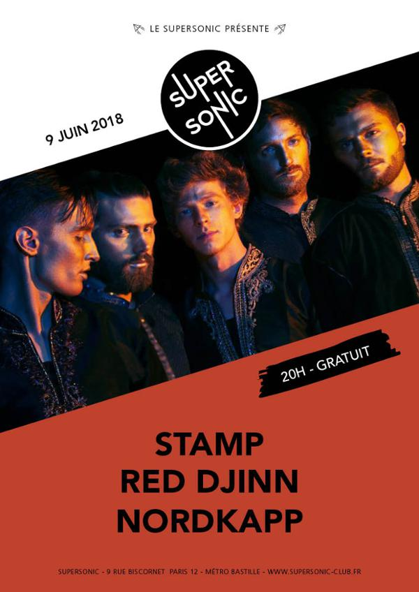 STAMP • Red Djinn • Nordkapp / Supersonic - Paris