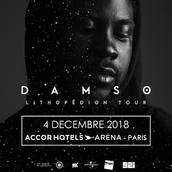 DAMSO • AccorHotels Arena, Paris • 4 décembre 2018