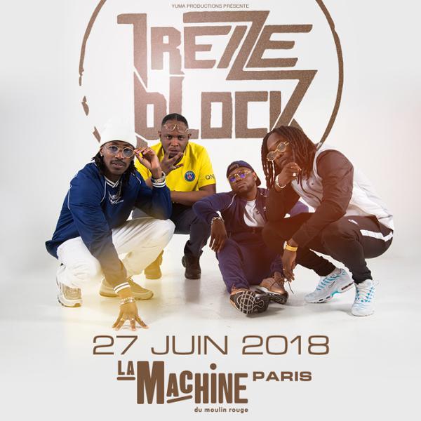 13 Block • La Machine du Moulin Rouge • 27 juin 2018