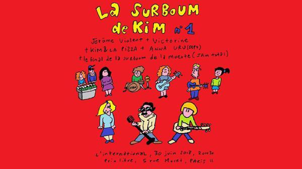 La Surboum de KIM #1 avec Jérôme Violent, Victorine et Anna Uru