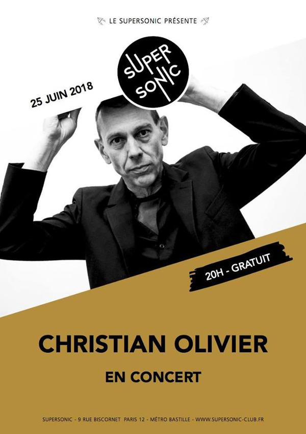 Christian Olivier • Acoustic Resistance / Free entrance