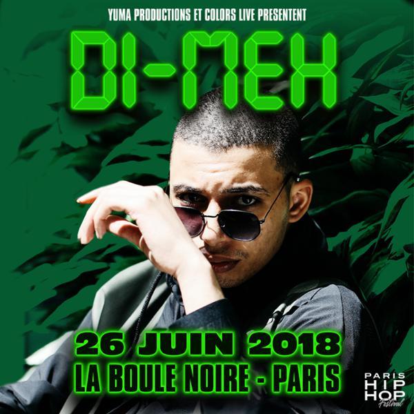 Di-Meh • La Boule Noire • 26 juin 2018