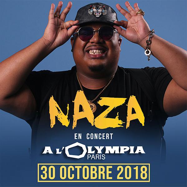 Naza • L'Olympia • 30 octobre 2018