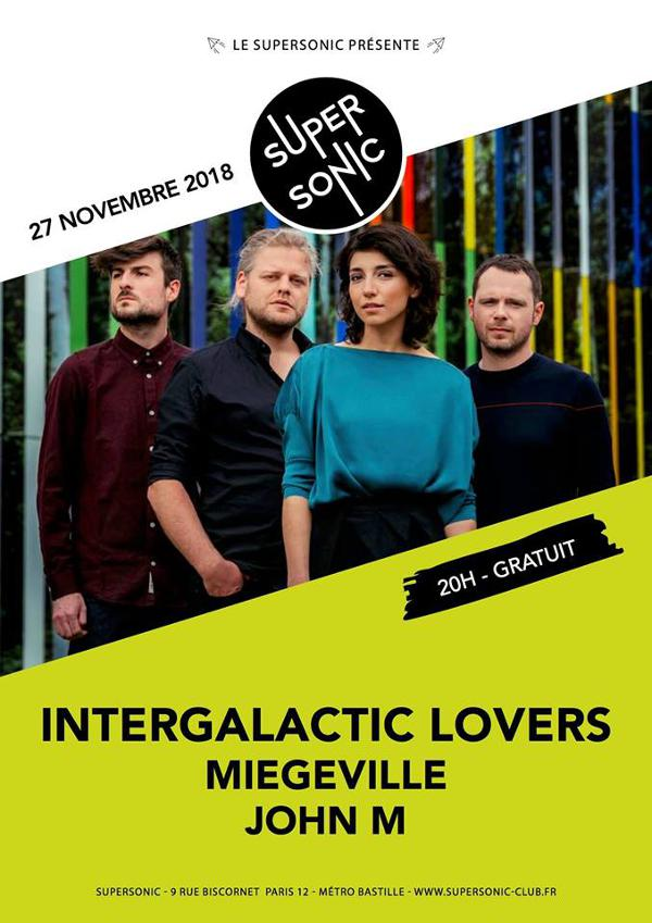 Intergalactic Lovers • Miegeville • John M / Supersonic - Free