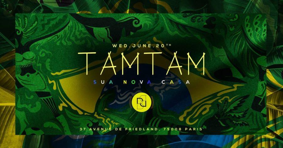 Mercredi 20 Juin - TAM TAM - Boum Boum