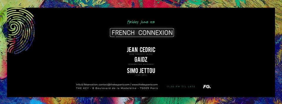 The Key x French Connexion : Jean Cédric, Gaidz, Simo Jettou