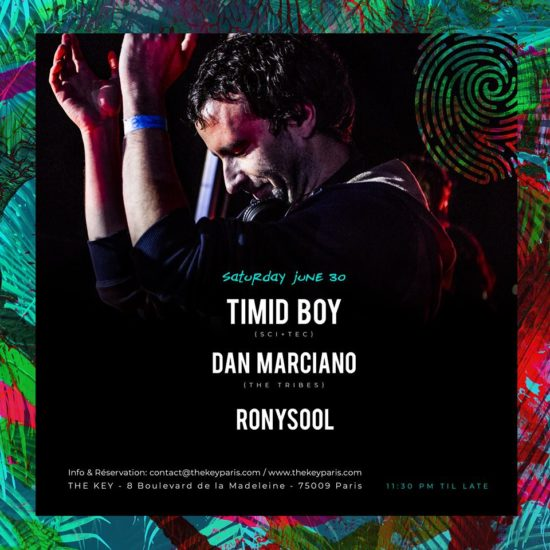 The Key Presents : Timid Boy, Dan Marciano, Ronysool