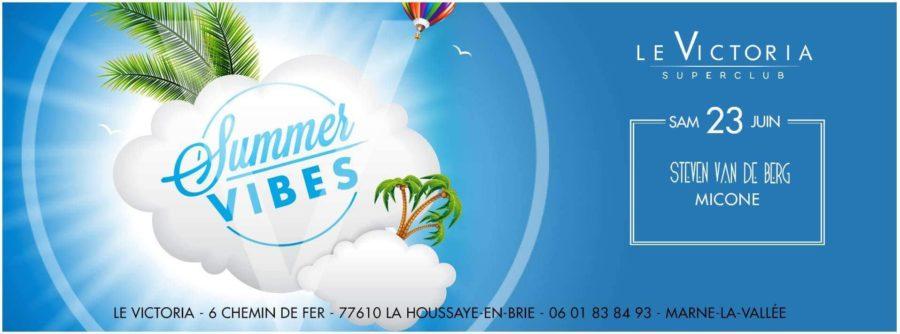 Le Victoria - Summer 2018 - Samedi 23 Juin