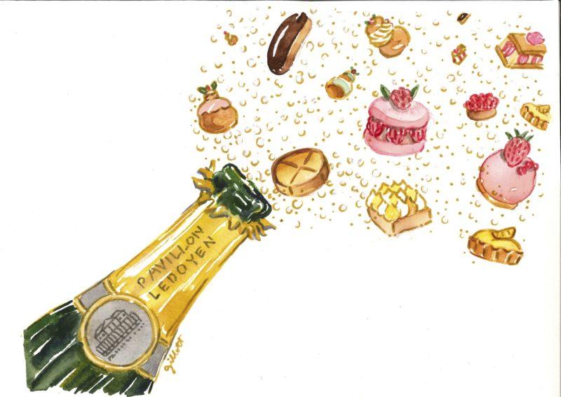 Salon des champagnes et des pâtisseries fines