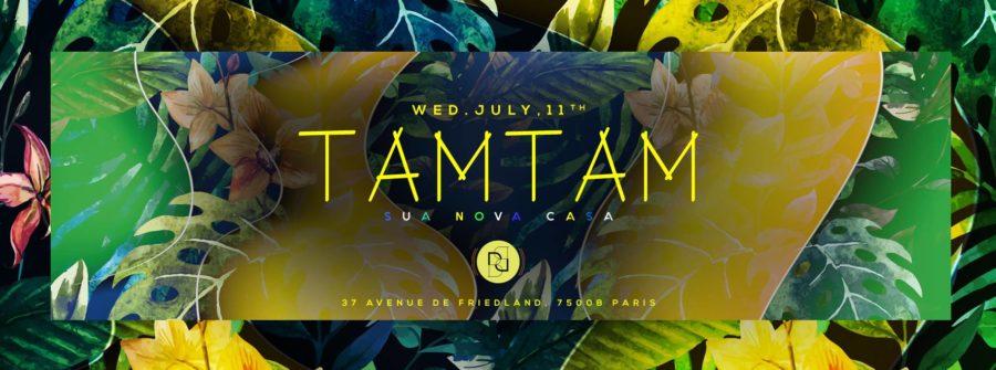 Mercredi 11 Juillet - TAM TAM - Boum Boum