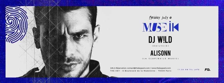 The Key x MUSE IK : DJ W!LD, Alisonn