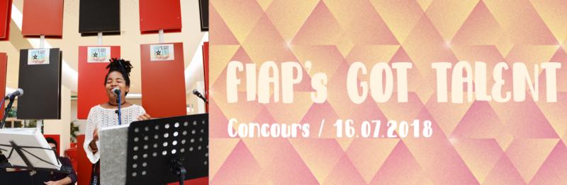 Concours - Fiap's got talents