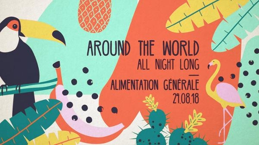 Around The World – All Night Long L'Alimentation Générale