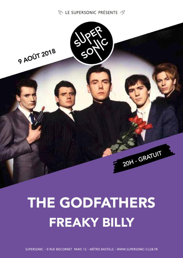 The Godfathers (UK Rock & Roll since 85) • Freaky Billy