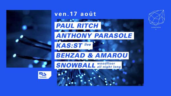 Concrete : Paul Ritch, Anthony Parasole, Kas:st live