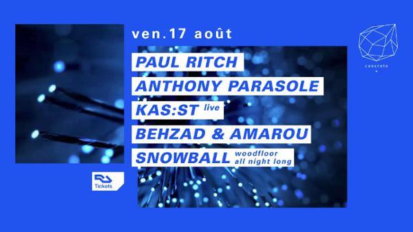 Concrete : Paul Ritch, Anthony Parasole, Kas:st live
