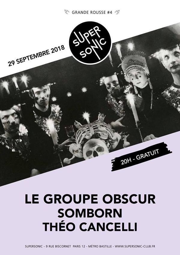 Grande Rousse #4 – Le Groupe Obscur • Somborn • Théo Cancelli