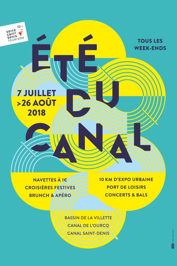CROISIÈRE ART URBAIN PAR L'ÉTÉ DU CANAL #2