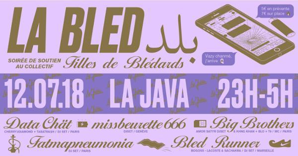 La Bled : soirée de soutien au collectif Filles de Blédards