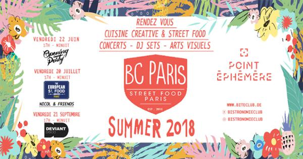 BISTRONOMIE CLUB PARIS - THE EUROPEAN STREET FOOD AWARDS 2018