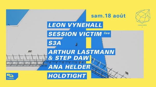 Concrete: Leon Vynehall, Session Victim live, S3A