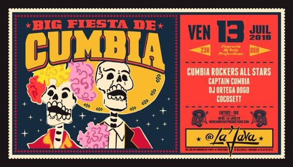 Big Fiesta de Cumbia à La Java