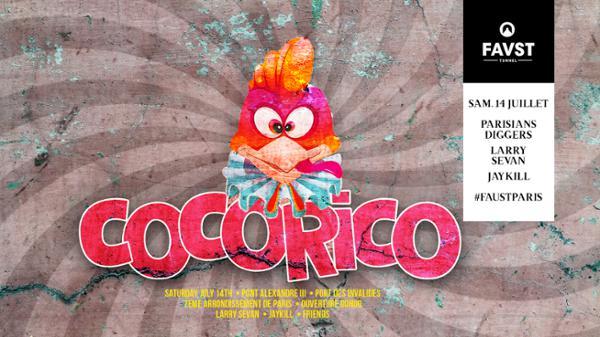 Faust : Cocorico Paris | Bastille Day