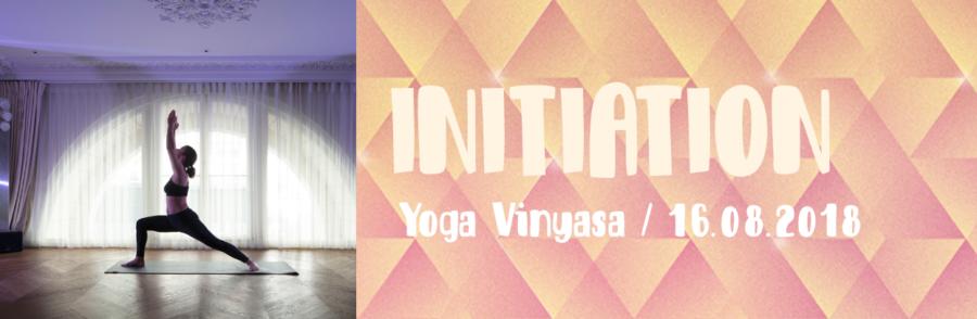 Initiation - Yoga vinyasa
