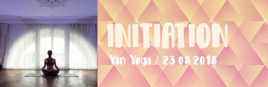 Initiation - yin yoga