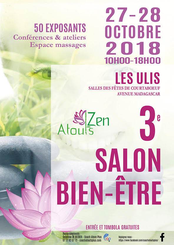 Atouts Zen 3ème édition du salon du bien-être et du développement personnel AUX ULIS