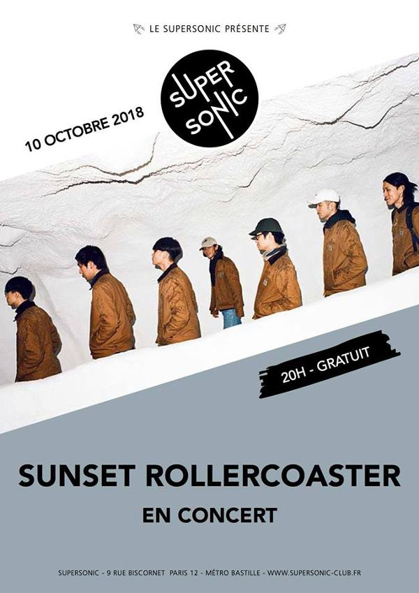 Sunset Rollercoaster en concert au Supersonic - Free