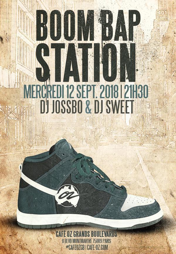 Boom Bap Station #Septembre