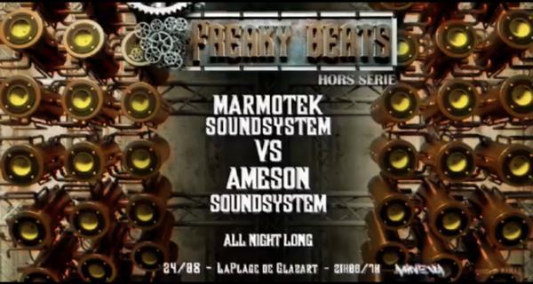 Freaky Beats Hors Série w/ Marmotek VS ÂmeSon All Night Long !