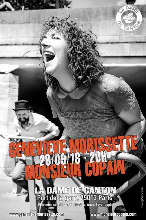 Geneviève MORISSETTE + 1ère partie MONSIEUR COPAIN