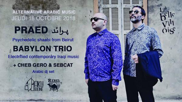 ALTERNATIVE ARABIC MUSIC: PRAED + BABYLON TRIO