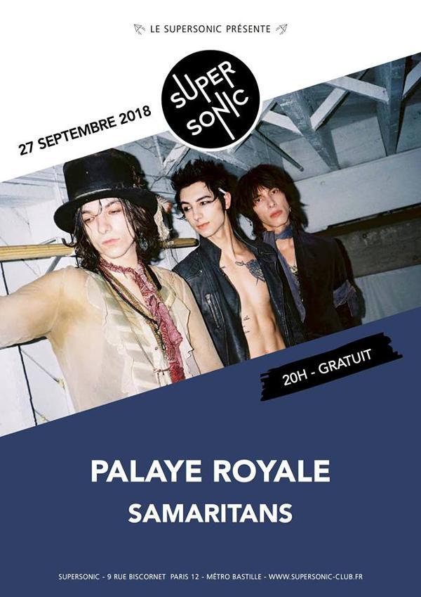 Palaye Royale • Samaritans / Supersonic - Entrée gratuite