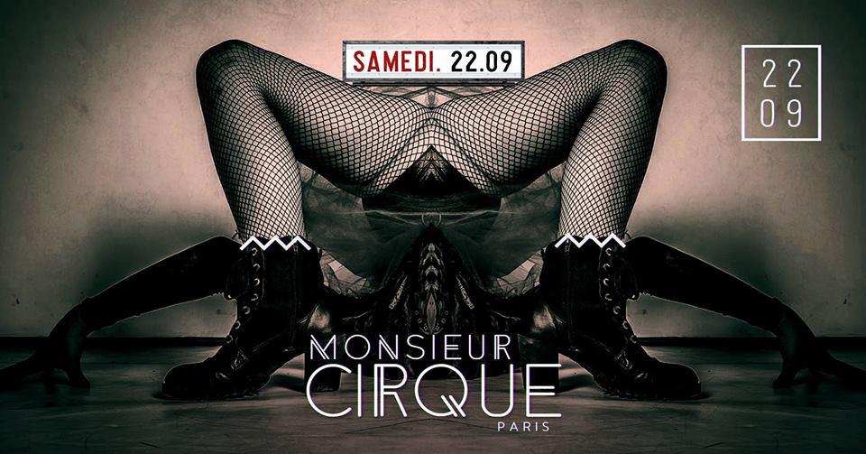 ★Samedi 22 Septembre - Monsieur Cirque