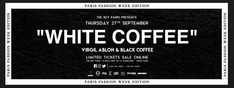 Virgil Abloh & Black Coffee at The Key Paris