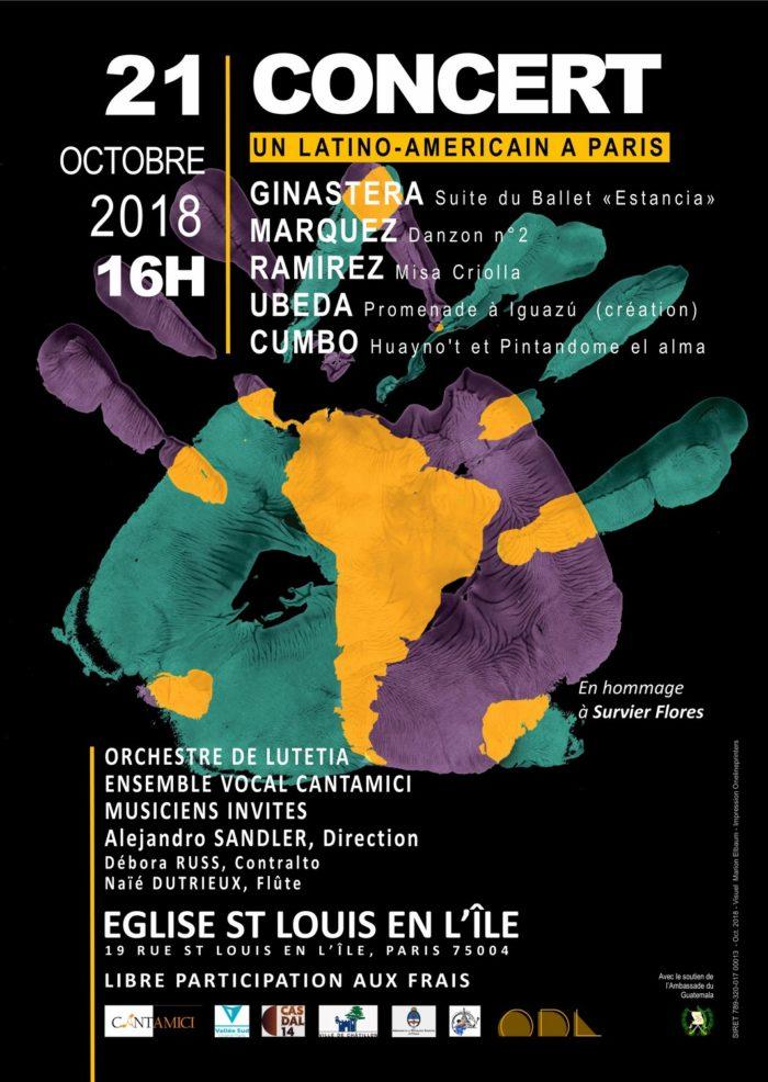 Concert : Un latino-américain à Paris