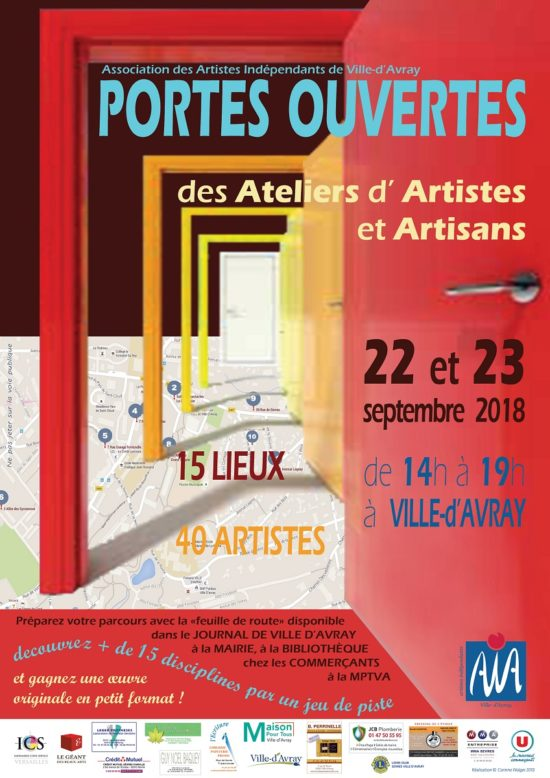 Portes ouvertes des Ateliers d'Artiste de l'AIVA