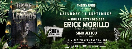 Temple of Legends : Erick Morillo (4 hours extended set)