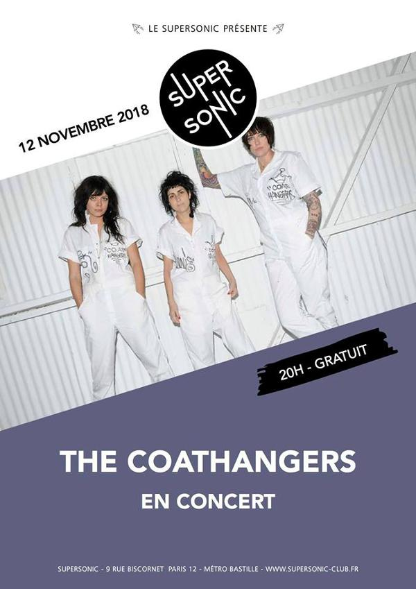 The Coathangers en concert au Supersonic / Entrée gratuite