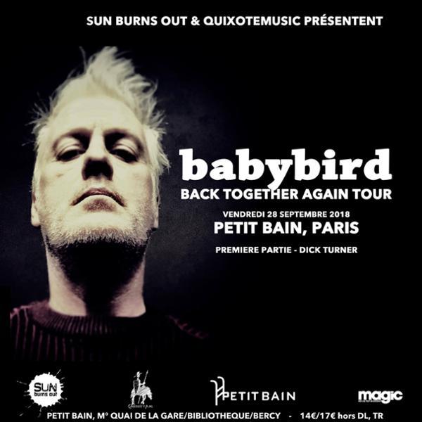 Babybird + DICK TURNER