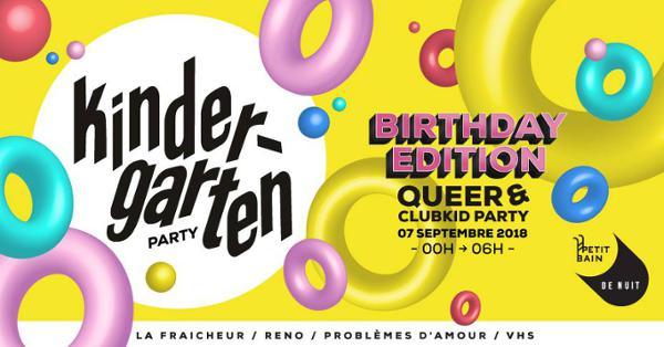 KINDERGARTEN #07 - BIRTHDAY EDITION