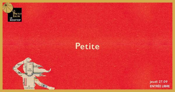 JEUDI POP POP : Petite