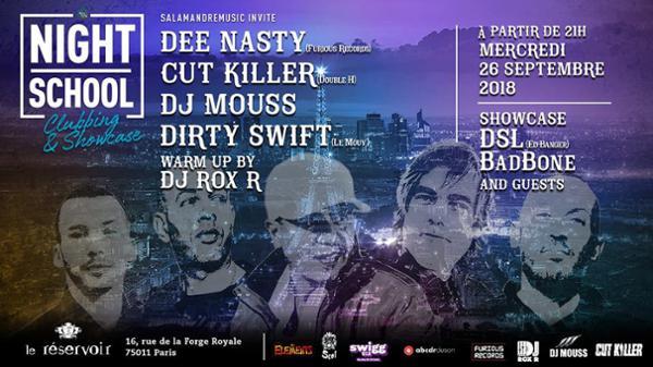 LaNightSchool B-Day/DeeNasty CutKiller DjMouss DirtySwift DjRoxR